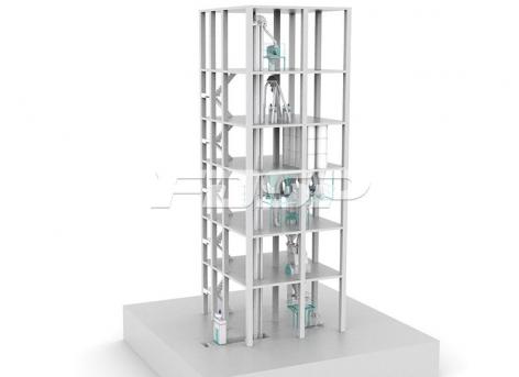 Автоматическая линия для производства премиксов SYHF1000