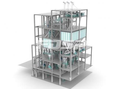 Трехлинейная линия по производству кормов для обычной рыбы SZLH420 (20 т/ч)