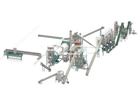 Линия производства органического удобрения из бытового отхода