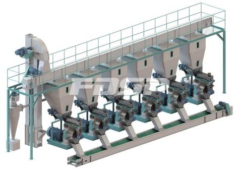 Линии производства гранулирования  сырых древесных по 15 т/ч