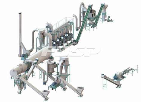 Линии производства гранулирования  строительных листов по 3-5 т/ч