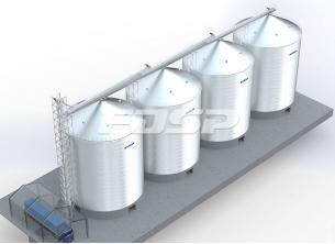 Хранение цемента 4-3000 т