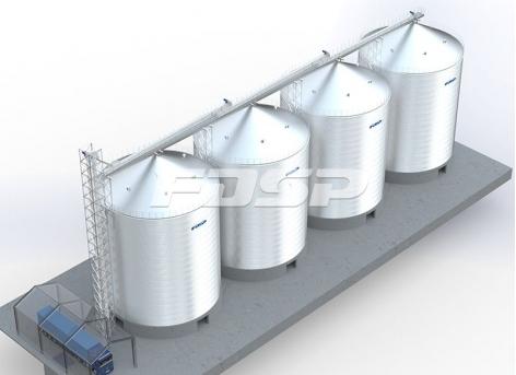 Хранение цемента 4-3000 т в промышленности строительных материалов