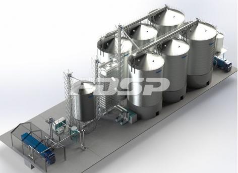 хранения для салистый промышленности 4-1500T & 2-2000T