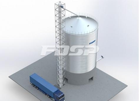 складское хранилище сорго 1-1500 т.