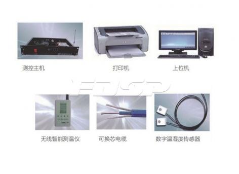 Система измерения температуры для стального силоса