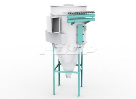 Пульсирующий пылеуловитель с круглым цилиндром TBLMy